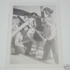 WOW Vintage Kids Beating Teacher Funny Black & White 1940s Photo Photograph Rare