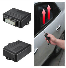 Manual Installed DC 12V Car Alarm System for front behind Windows Power Roll Up
