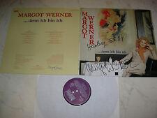 MARGOT WERNER ....denn ich bin ich *FOC LP UNTERSCHRIEBEN*NEUWERTIG*