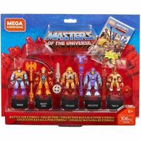 Masters of the Universe MOTU Mega Construx Heroes Battle of Eternia Collection