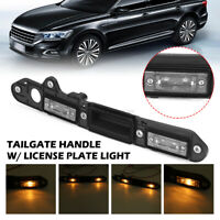 Rear Tailgate Trunk Handle License Plate Lamp Light For VW Passat Touran