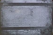 Inscription, Basilica of Sant'Apollinare in Classe, Magic Lantern Glass Slide