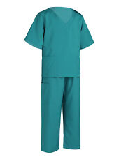 Boys Girls Doctor Costume Outfit Nurse Fancy Dress Cosplay Party Uniform Costume