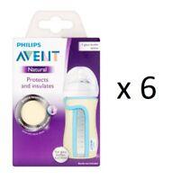 Philips Avent Glass Sleeve 8 oz SCF676/01 (6 Pack)