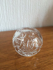SMALL VINTAGE CRYSTAL BOWL-2 1/2in