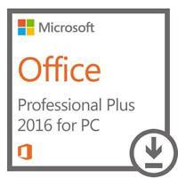 MS Office Pro Plus 2016 Authentic Retail Key For Windows 1 PC - AU Stock
