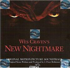 J.PETER ROBINSON new nightmare FREDDY CD (441) bande originale du fim soundtrack