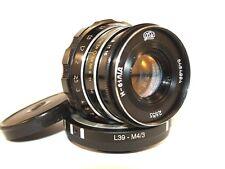 Industar - 61 l/d 55 mm f 2,8 Soviet lens Mount:m39+micro 4/3 olympus, panasonic