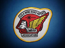 Rare Honda Gold Wing Road Riders Association GWRRA Biker Vest Jacket Patch A