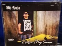 Kid Suda - To Whom it May Concern CD SEALED Jimmy Donn horrorcore rap music