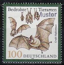 Specimen, Germany Sc2059 Endangered Species, Large horse-shoe Bat.