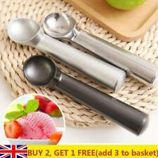 Aluminum Ice Cream Spoon Non-Stick Anti-Freeze Ball Maker Scoop Fruit Dipper UK