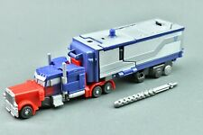 Transformers Dark of the Moon Optimus Prime Armored Cyberverse Trailer DOTM