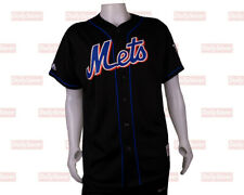 New York Mets 2000 World Series Championship Majestic Baseball Jersey Black XL
