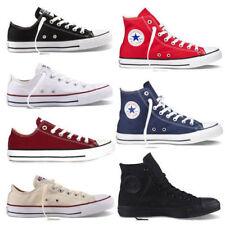 AU Men Women Classic Convas Shoes Comfort Low Top High Top Chuck Taylor Trainers