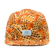 VANS OFF THE WALL DAVIS 5 PANEL BRUNCH CHICKEN + WAFFLES HAT//7525.12