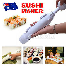Sushi Roll Maker Making Kit Mold Rice Roller Mould Kitchen DIY Set AU