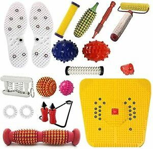Acupressure Massager & Sujok Therapy Tools Combo Kit For Stress & Pain Relie UK