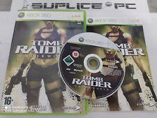TOMB RAIDER UNDERWORLD (AVEC NOTICE) - XBOX 360 - JEU FR - SUPLICE PC