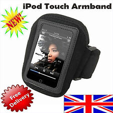 Black Sporty Armband Arm Band for iPod Touch iTouch@UK@