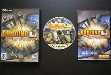 JEU PC CD-ROM : BUILDING & Co (Codemasters COMPLET envoi suivi)