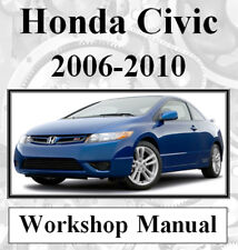 HONDA CIVIC 2006-2010 WORKSHOP SERVICE REPAIR MANUAL DIGITAL  DOWNLOAD