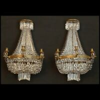 PAIRE D'APPLIQUES DE BOISERIE D'EPOQUE EMPIRE - PAIR OF EMPIRE PERIOD SCONCES