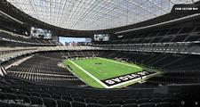 Sec. 229 Row 10 - Las Vegas Raiders vs Kansas City Chiefs 11/14/21 (2) Tickets