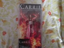 """CARRIE WHITE (BLOODY) Carrie 7"""" inch Movie Figure Neca Reel Toys 2013"""