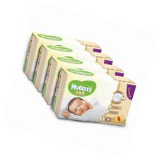 Huggies Bebè Pannolini, Taglia 1 (2-5 kg), 4 Pacchi da 28 Pezzi (112 Pz)