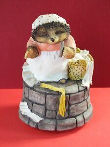 Beatrix Potter Border Fine Arts Mrs Tiggy Winkle Musical Box - Flower Song