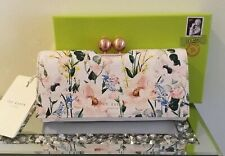 Ted Baker Elegant Leather Bobble Matinee Purse BNWT Floral Designer CLARITY