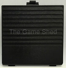 BATTERY COVER DOOR BLACK FOR ORIGINAL NINTENDO GAMEBOY BRAND NEW - GAME BOY GB