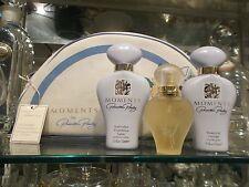 MOMENTS Priscilla Presley set edt 20 ml spray+body lotion 75 ml+shower gel 75 ml