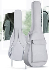 """Folk Acoustic Guitar Gig Bag Soft Case Strap Backpack for 40"""" 41"""" Waterproof"""