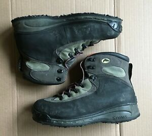 Simms wader, wading fishing boots  Size 13  Used 2x