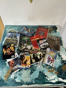 Job Lot Video Game Manuals N64 PlayStation 2 PC Master System