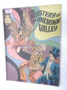 MANDRAKE THE MYSTERY UNKNOWN VALLEY   NO 344 INDRAJAL ENGLISH  Rare Comic India