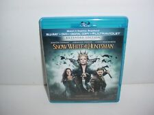 Snow White and the Huntsman Blu ray + DVD Movie No Digital