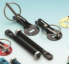 Alloy Motorsport Bonnet Pins Fastners Kit BLACK Colour