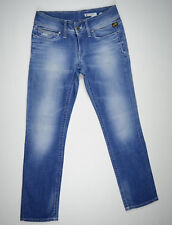 EUC RRP$289 Womens Stunning G-Star Raw 'FORD STRAIGHT WMN' LT Aged Jeans W30 L32