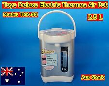 Toyo Deluxe Electric Thermos Air Pot with Keep Warm Feature TMA-50 (2.5L) New