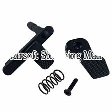 Airsoft APS Ambidextrous Mag Magazine Release Catch for M-Series AEG Black