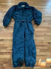Vtg Columbia Ski Suit Winter Snow Suit Teal Mens XL