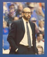 Coach DAVID FIZDALE autograph auto 8x10 photo New York Knicks Memphis Grizzlies