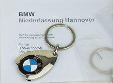 2X Original BMW Schlüsselanhänger Einkaufs Chip Einkaufswagen 80272446749