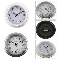 Home Shabby Chic Vintage Small Wall Clock White / Grey Kings Cross London Clock