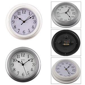 HomeShabby Chic Vintage Small Wall Clock White / Grey Kings Cross London Clock