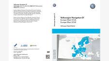 ORIGINALES VW VOLKSWAGEN barcos datos de la navegación Europa v14 Actualización