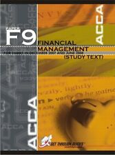 ACCA F9 Study Text - Financial Management (New Syllabus) 2008, Get Through Guide
